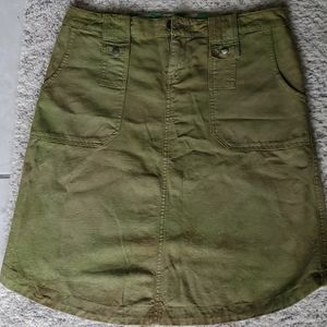 DSL55: Army Green Skirt